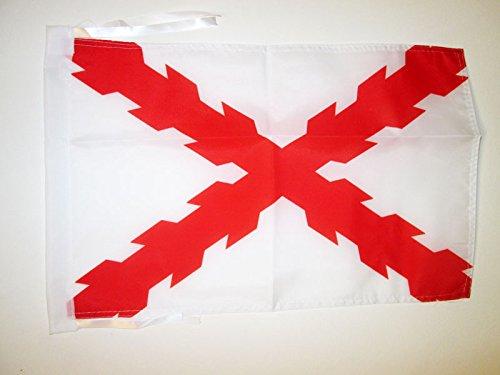 AZ FLAG Bandera del DUCADO DE BORGOÑA 45x30cm - BANDERINA DUCHÉ DE Bourgogne - Francia 30 x 45 cm cordeles