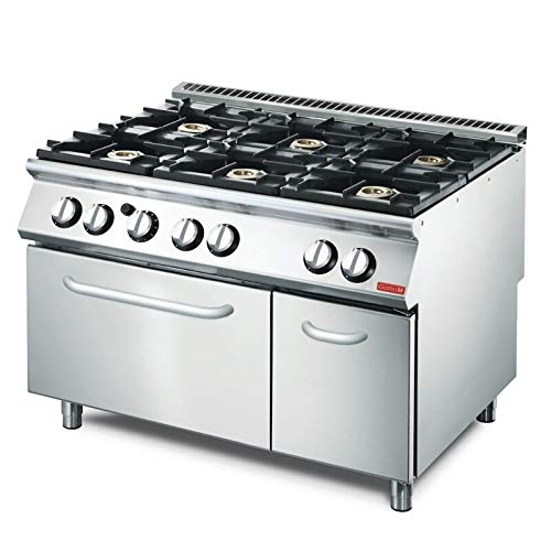 Gastro M gasfornuis met oven GM70/120CFG