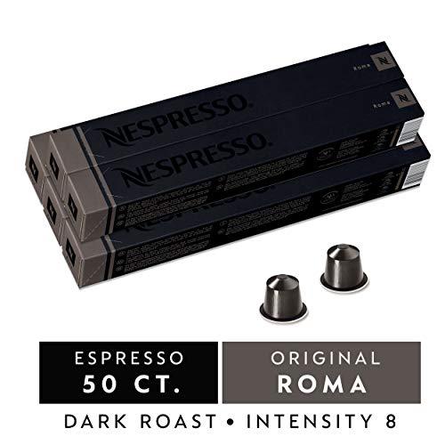 50 Nespresso OriginalLine Capsules: Roma - 50 Count