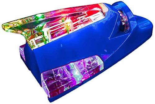 Antena de Aleta de tiburón de automóvil con LED Coloridas Aéreas Aéreas Decorativas Universal Portátil Automotriz Decoración Aérea Lámpara Fácil Instalación 1.12