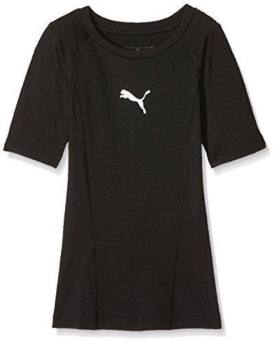 PUMA Liga Baselayer Tee SS Jr Jungen Shirt, PUMA Black, 152
