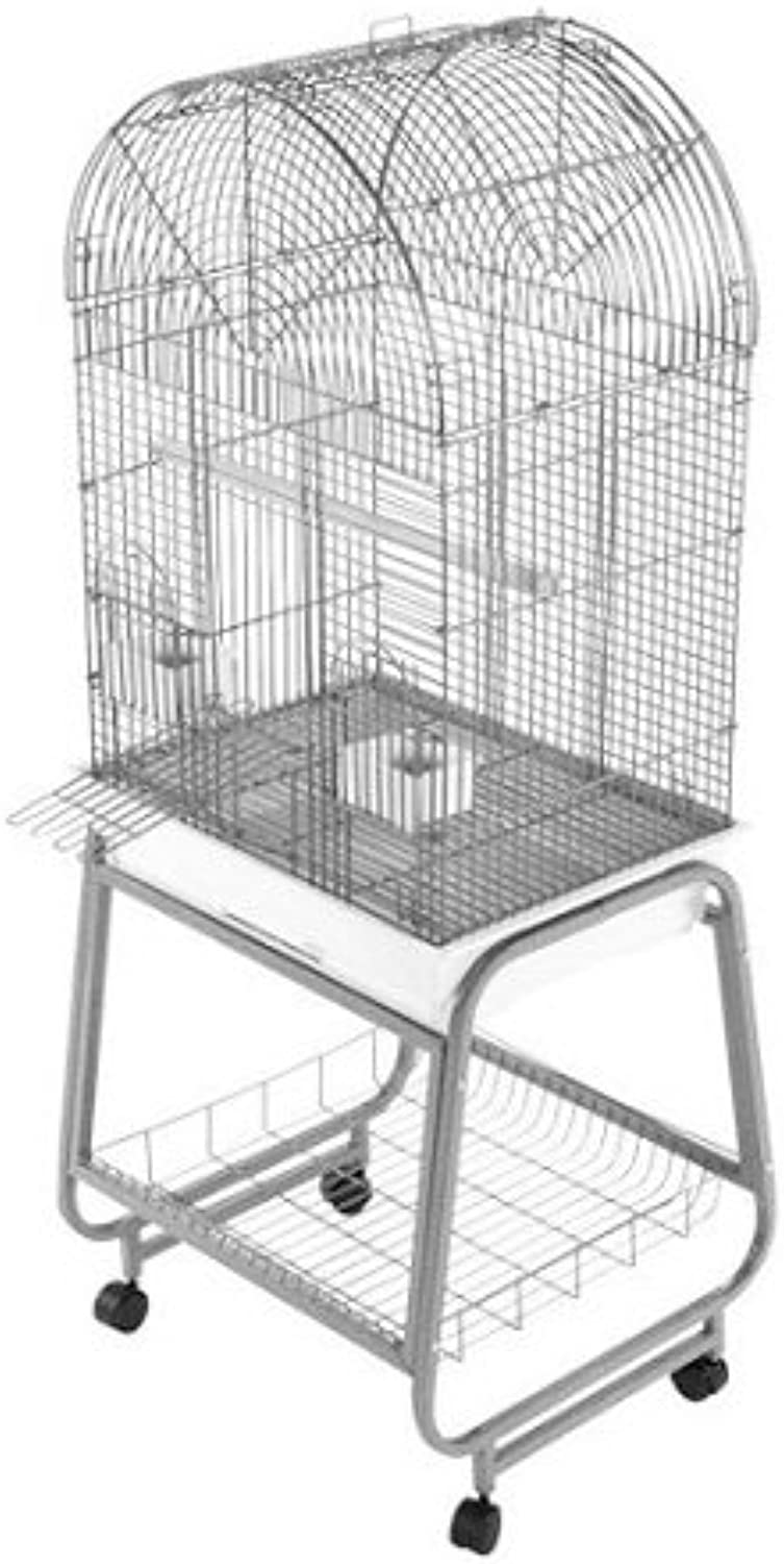 A&E CagesOpen Top Dome Bird Cage