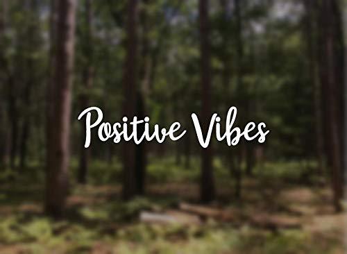 Autocollant « Positive Vibes », « Feeling Good », « Last is Good »
