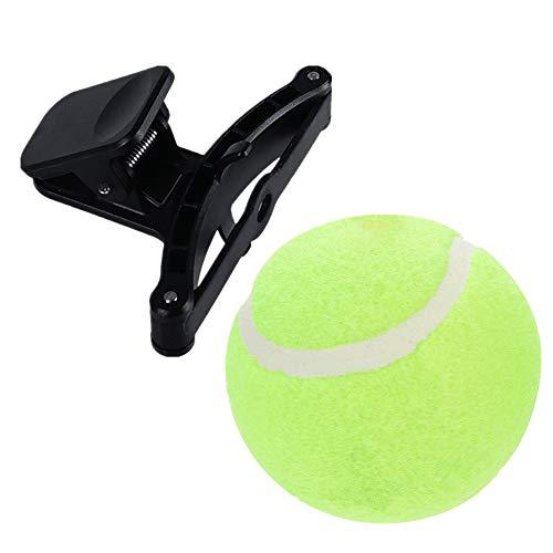 Fullfun Pet Tennis Selfie Stick for Dog Cat Ball Phone Attachment Pet Train Photos