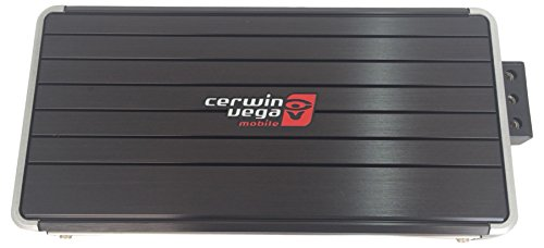 Cerwin-Vega B54 1200W 4-Channels Stealth Bomber Class D Amplifier Black