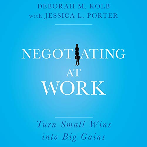 Negotiating at Work cover art