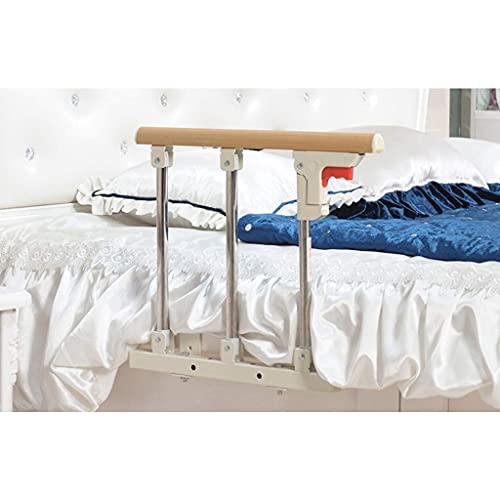 XJZKA Barra de Asistencia para la Cama para Adultos Mayores, Seguridad de Grado hospitalario Riel de la Cama Pasamanos Lateral de la Cama Plegable Barra de Agarre anticaída para la Mano