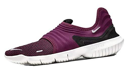 Nike Women's Free RN Flyknit 3.0 Running Shoes Size US 7.5 M True Berry AQ5708-601
