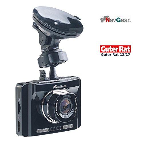 NavGear Autocamera: Full-HD-Dashcam mit autom. Nachtsicht-Modus, G-Sensor & GPS-Empfänger (Autokamera mit GPS Aufzeichnung)