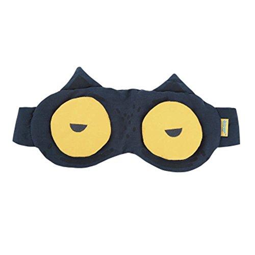 Grand cadeau [BIG EYE] Masque oculaire confortable de sommeil d'oeil masque unisexe d'oeil