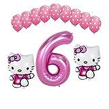 Xx101 Globo 1 Set 40'Number Globo Pink Dot Latex Globos Baby Shower Girls 1 2 3 5 AÑOS DE CUMPLEAÑOS DE CUMPLEAÑOS DE CUMPLEAÑOS NIÑOS NIÑOS (Color : Coffee)