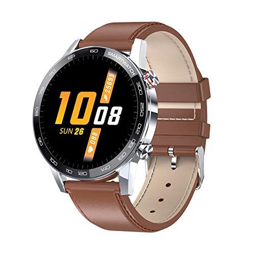 Smartwatch, Mejor Hombre, 1.3 Pulgadas, Resolución 360 * 360, Duración De La Batería Larga, Reloj De Deporte De Hombres Impermeables Multi-Dial Smartwatch L16,D