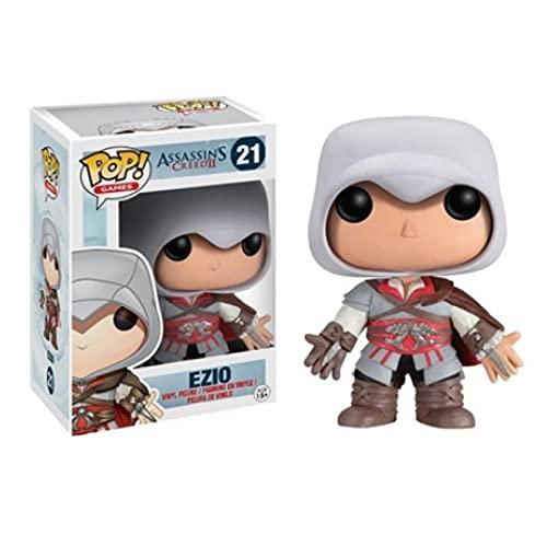 Figuras Pop Assassins Creed Ezio Personaje Figura De Acción Modelo De Vinilo Coleccionable Niños Niños Regalos 10Cm