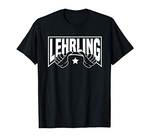 Herren Lehrling Azubi Auszubildender Stift Geschenk Ausbildung T-Shirt
