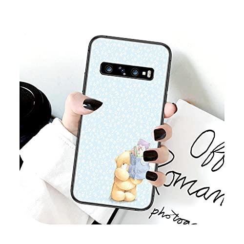 Funda para Samsung Galaxy Note S 8 9 10 20 Plus E Lite Uitra negro Shell Trend Bumper lujo Funda-9-Galaxy S20Uitra