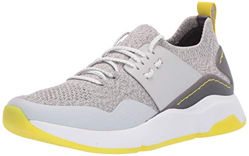 Cole Haan Women's Zerogrand All-Day Trainer with Stitchlite Sneaker, Black Knit/Leather/Optic White, 5