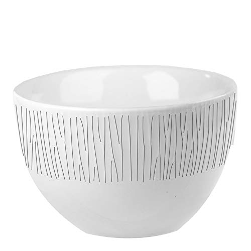 Churchill Stonecast - Cuenco (22,7 cl, Fabricado a Mano), Color Blanco