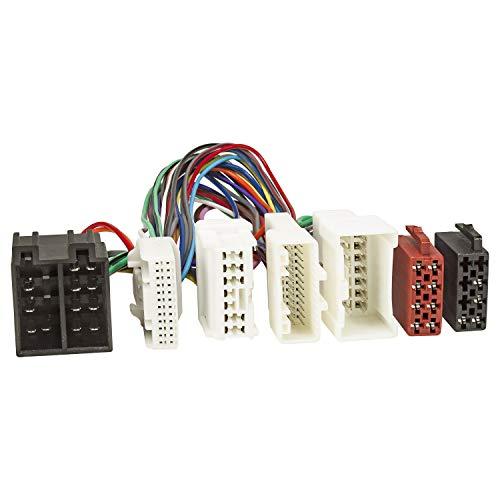 tomzz Audio 7309-000 T-Kabel ISO passend für Dacia, Renault ab 2012, Smart, zur Einspeisung von Freisprecheinrichtung ISO Verstärker für THB Parrot Dabendorf i-sotec Match