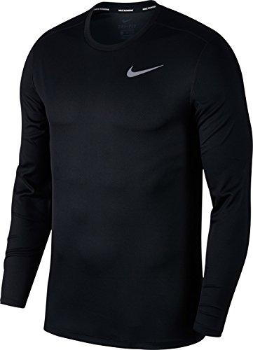 Nike Men's Breathe Running Top Black Size Large