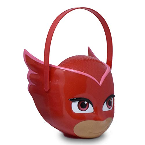 PJ Masks Owlette– Character Bucket – Children's Halloween Trick or Treat Candy and Storage Pail