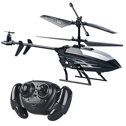 Simulus Mini Helikopter: Ferngesteuerter 3,5-Kanal-Mini-Hubschrauber mit 3 Rotoren und Gyroskop (RC Hubschrauber)