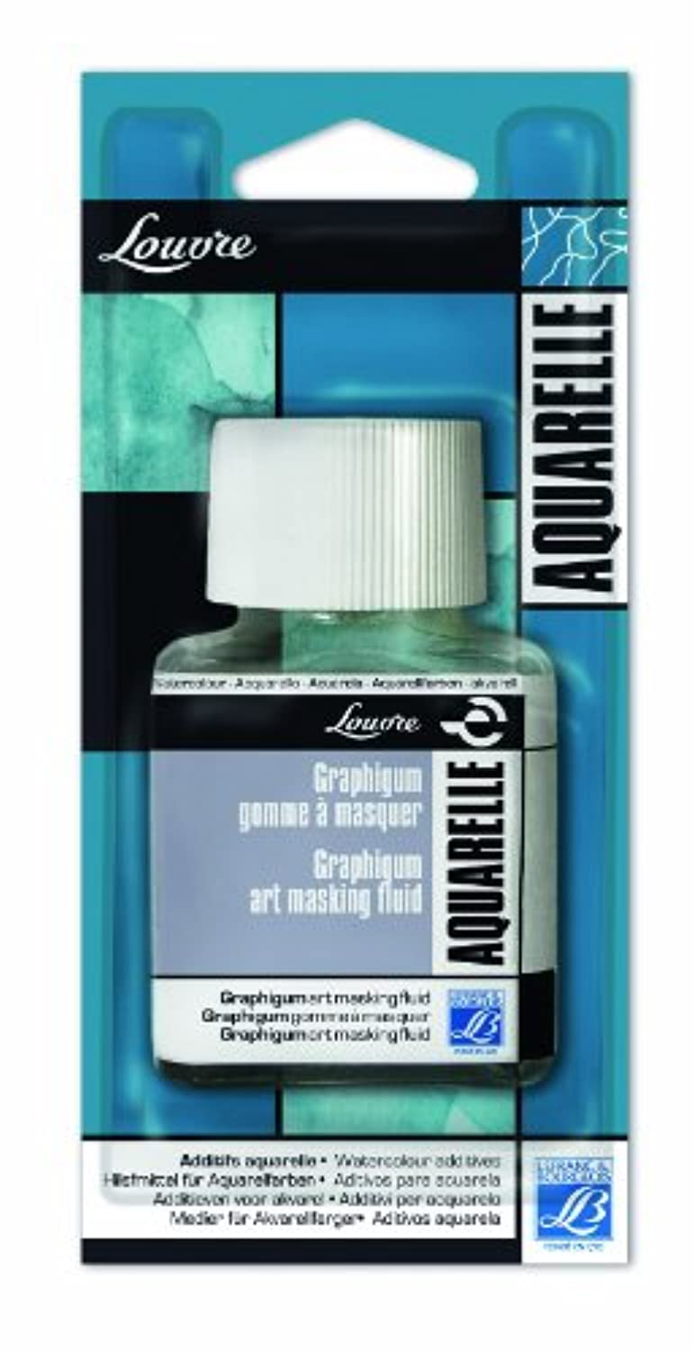 Lefranc Bourgeois Graphigum Paint 75 ml Bottle Transparent