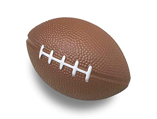 Titokiwi Mini American Football Stressball Indoor Football 12cm Länge aus Schaumstoff (2er-Pack)