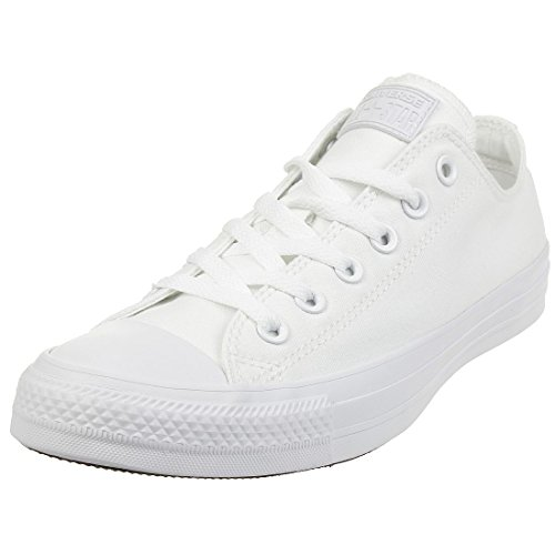 Converse Chuck Taylor All Star, Sneakers Unisex – Adulto, Bianco (Monocrom), 45 EU