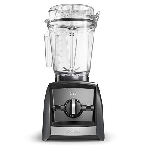 Vitamix A2500i ASCENT Series Standmixer, 100% Tritan-Kunststoff (BPA-frei), 2 liters, dunkelgrau