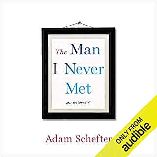 The Man I Never Met audiobook cover art