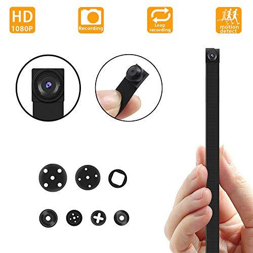 Cámara espía Ultra pequeña Oculta, cámara de vigilancia de Seguridad de Mini niñera HD 1080P Adecuado para el hogar, Oficina, Tienda, etc. (No Incluye Tarjeta SD)
