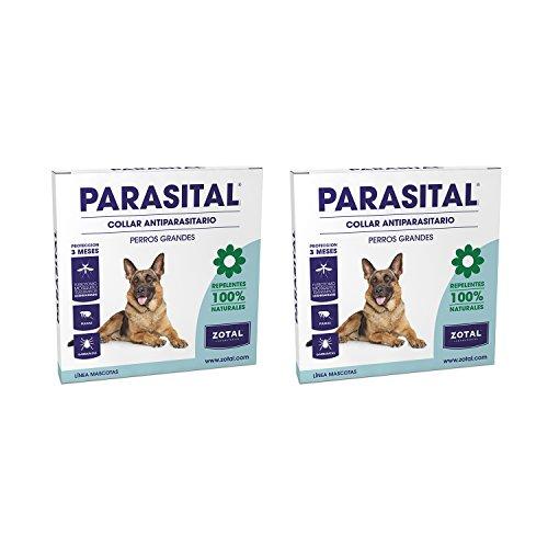 Parasital Collar Antiparasitario de 75 cm para Perros Grande