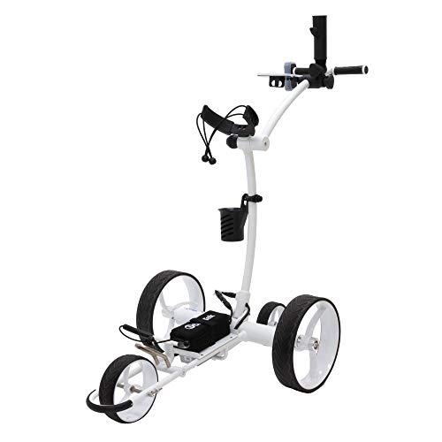 Cart-Tek Electric Golf Push cart with Remote Control - GRi-1500Li V2 Lithium Battery Electric Golf...