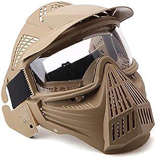 NINAT Airsoft Skull Masks Full Face - Tactical Mask Eye Protection for CS Survival Games BBS Shooting Masquerade Halloween...