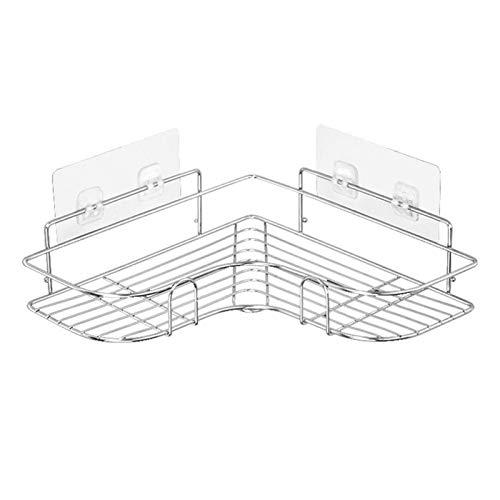 CYSHAKE Estante de Almacenamiento de Acero Inoxidable Estante de Pared de perforación Libre para baño, Cocina y Dormitorio