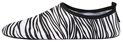 zapatos de playa Zapatos deportivos para hombres y mujeres descalzos para flacos transpirables y de secado rápido Zapatos de natación Río Viajes antideslizantes Natación Snorkel Diving Snorkeling Fitn