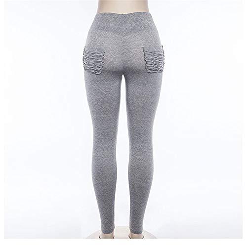 Yundongyi Dames ademende hardloopyogabroek hoge taille fitness panty naadloze leggings training gym leggings elastische dunne sportbroek