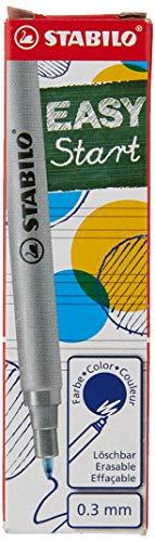 Patrone zum Nachfüllen - STABILO EASYoriginal Refill - fine - 3er Pack - blau (löschbar)