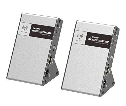 PremiumCord 4K HDMI Wireless Extender bis zu 30m 5,8 GHz, HDBitT, Metallgehäuse, Kompatibel mit 4K 2160p UHD, Full HD 1080p, unkomprimiert, Keine Latenz