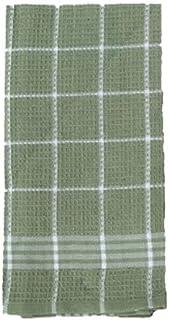 J&M Home Fashions 2PK 18x24 GRN Kit Towel, 7389