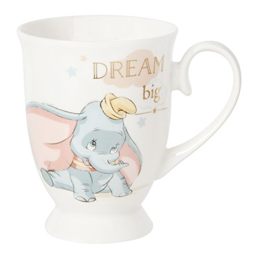 ukgiftstoreonline WBM-GFT65 Disney Magical Moments Dumbo Kubek, transparent