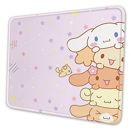 Anime Mouse Pad Cute Mouse Pads for Women Girls Kawaii Pink Mouse Pads with Non-Slip Rubber Base for Laptop Computer 7.9 x 9.5 inch