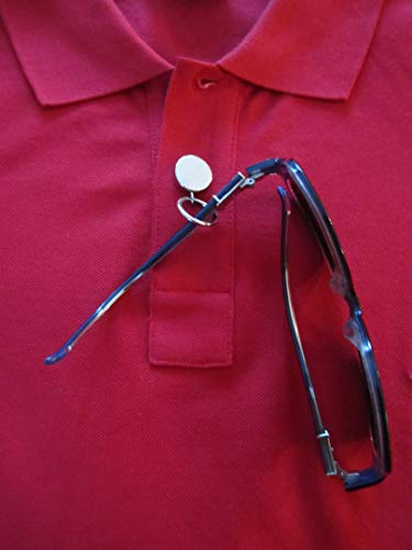 SpecSporter Plus, Eyeglass Holder - Button Snap or Magnetic