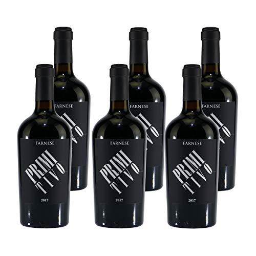 Farnese Primitivo Puglia IGP - Rotwein halbtrocken (6 x 0,75)