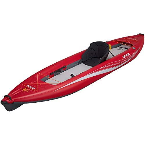 Star Paragon XL Inflatable Kayak-Red