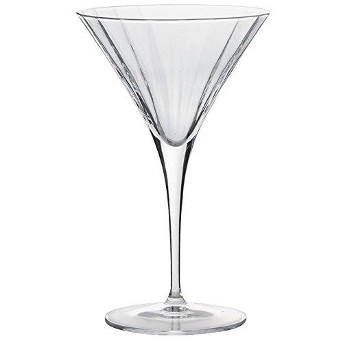 カクテルグラス : LuigiBormioli LU-29 10951/01 マティーニ 260ml Φ11.3xh18.5cm/4入 YA