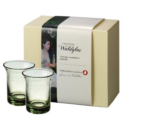 Geschenkset Goethe Wasserglas aus Original Thüringer Waldglas - 2