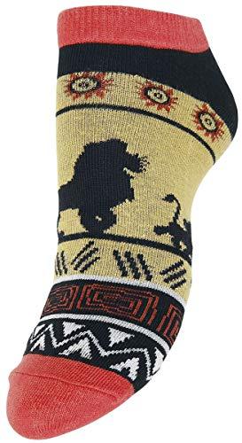 Der König der Löwen Adventure Frauen Socken Multicolor EU 35-38