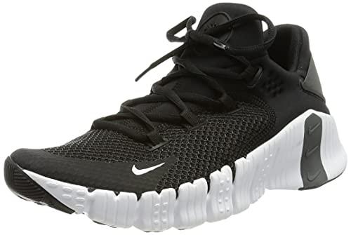 Nike Free Metcon 4, Chaussure de Marche Homme, Black/Black-Iron Grey-Volt, 40.5 EU