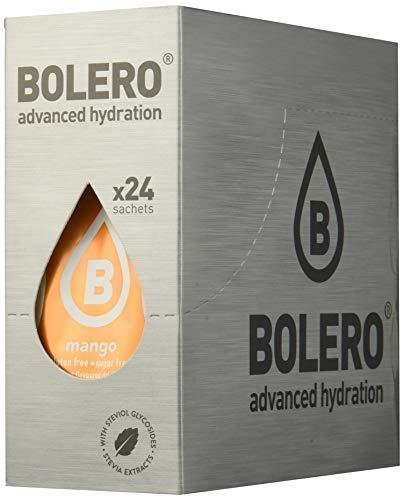 Bolero Bebida Instantánea sin Azúcar, Sabor Mango - Paquete de 24 x 9 gr - Total: 216 gr